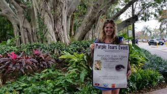 Purple Tears Event at BCC